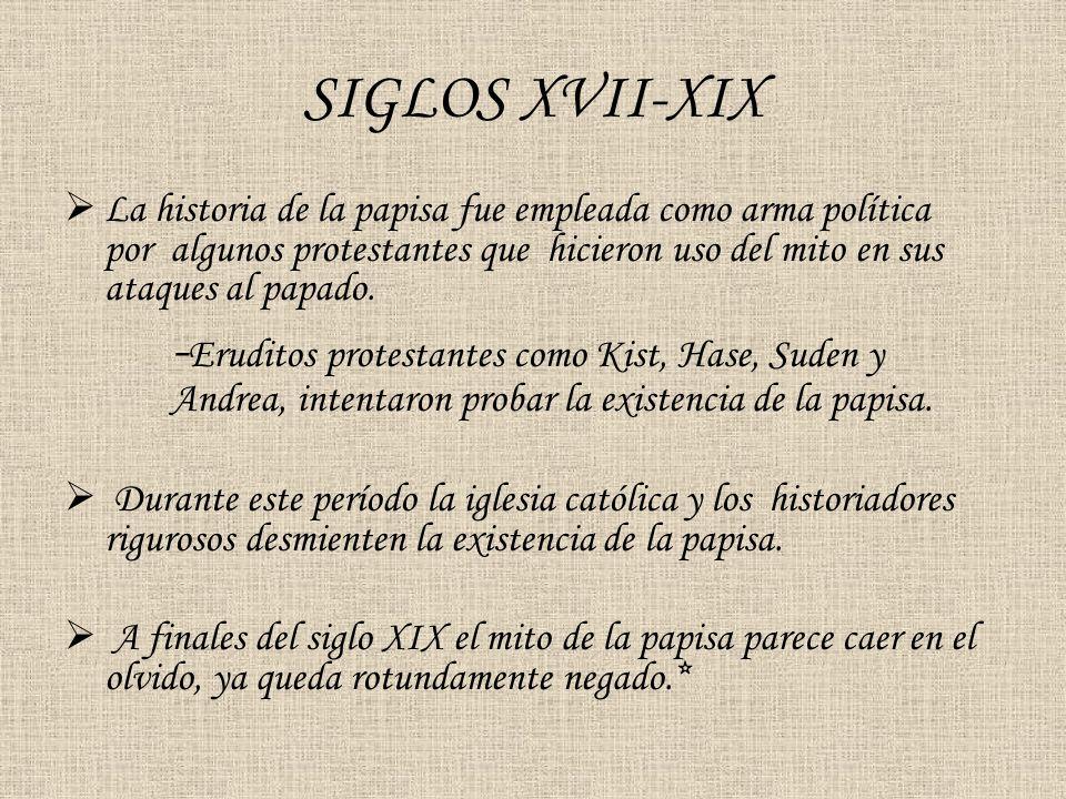 SIGLOS XVII-XIX