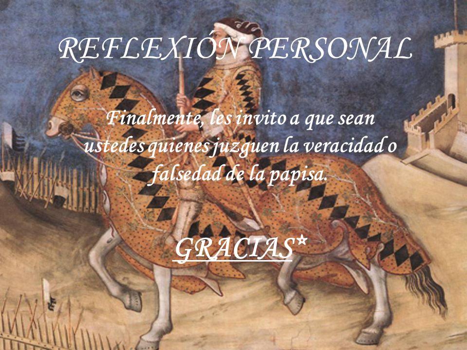 REFLEXIÓN PERSONAL GRACIAS*