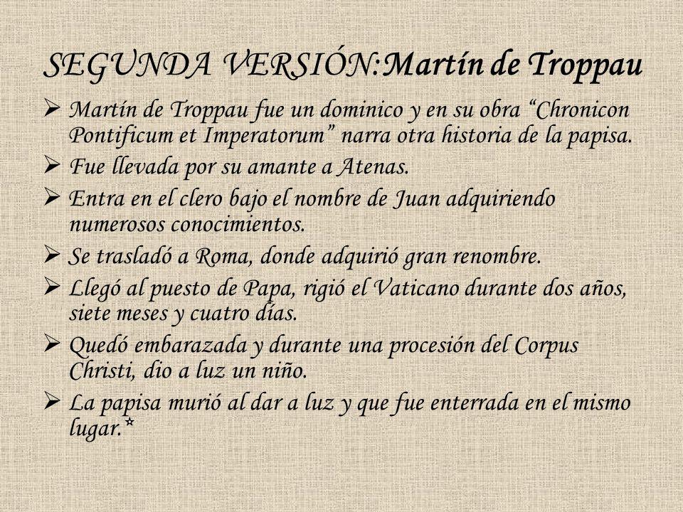 SEGUNDA VERSIÓN:Martín de Troppau