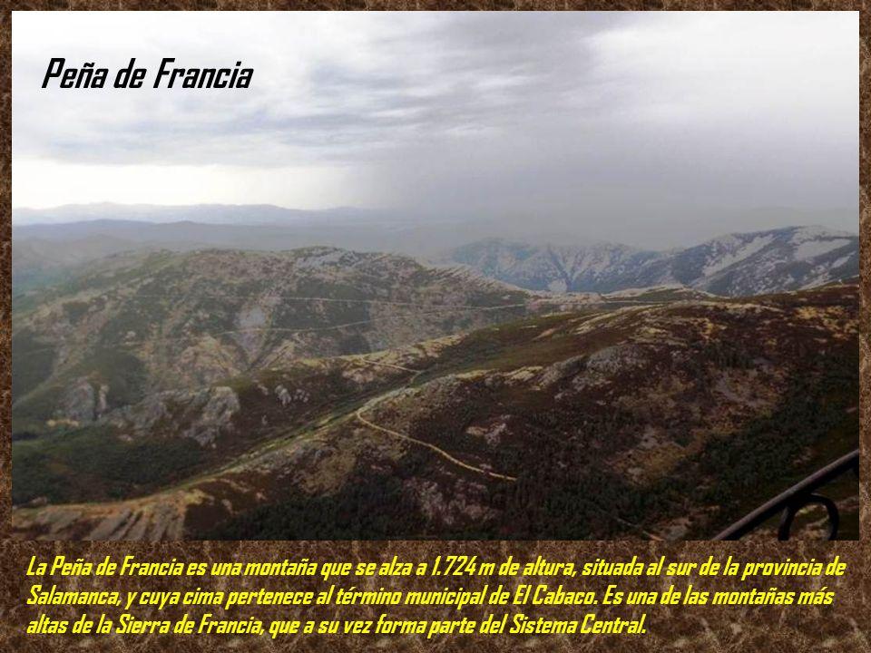 Peña de Francia .