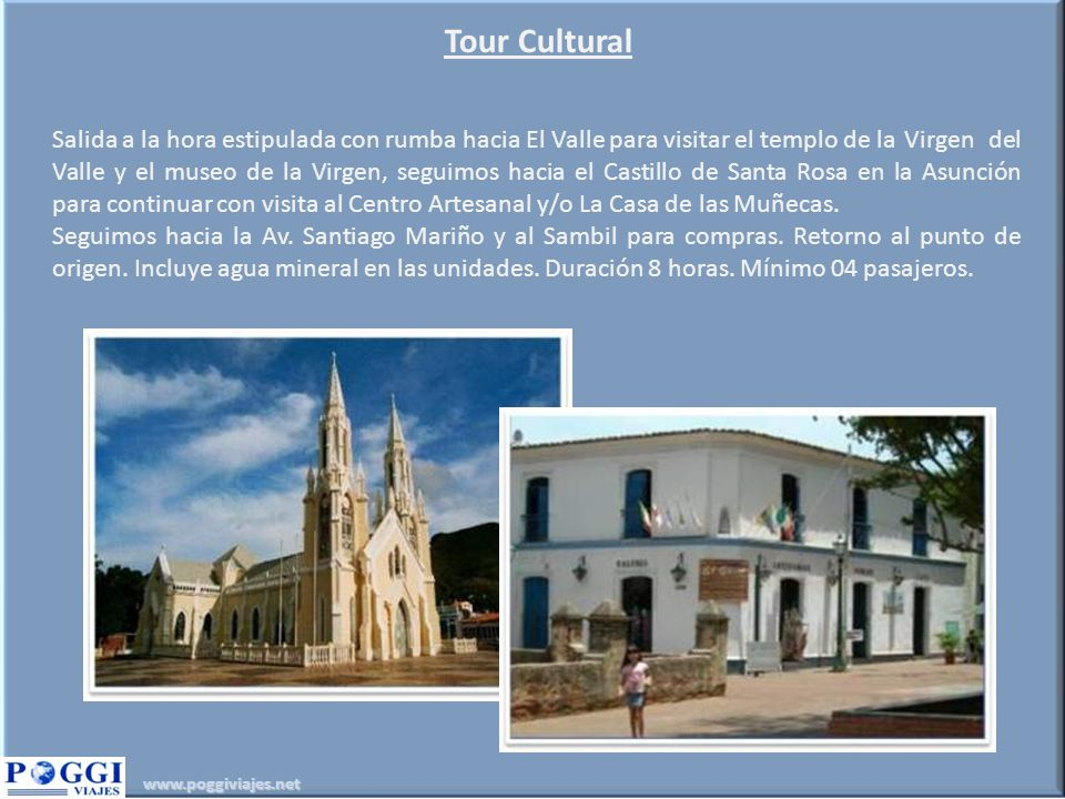 Tour Cultural