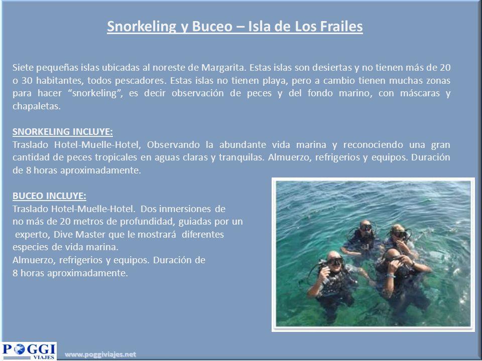 Snorkeling y Buceo – Isla de Los Frailes