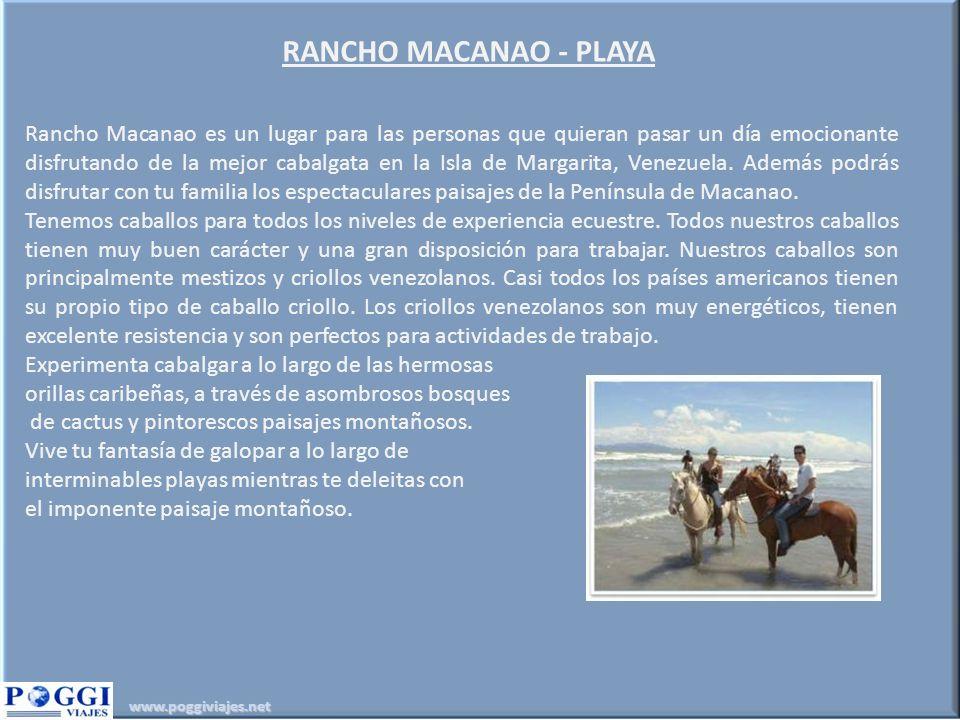 RANCHO MACANAO - PLAYA