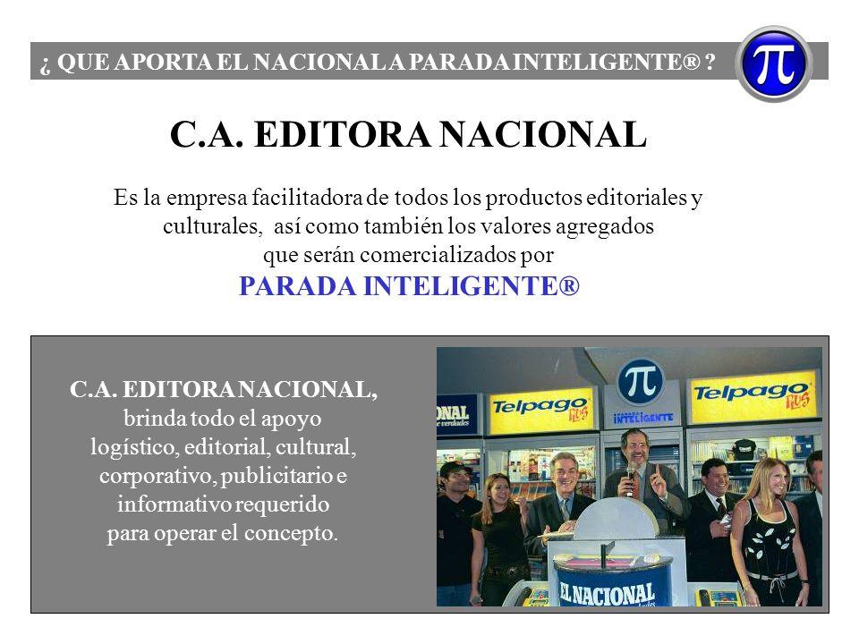 C.A. EDITORA NACIONAL PARADA INTELIGENTE®