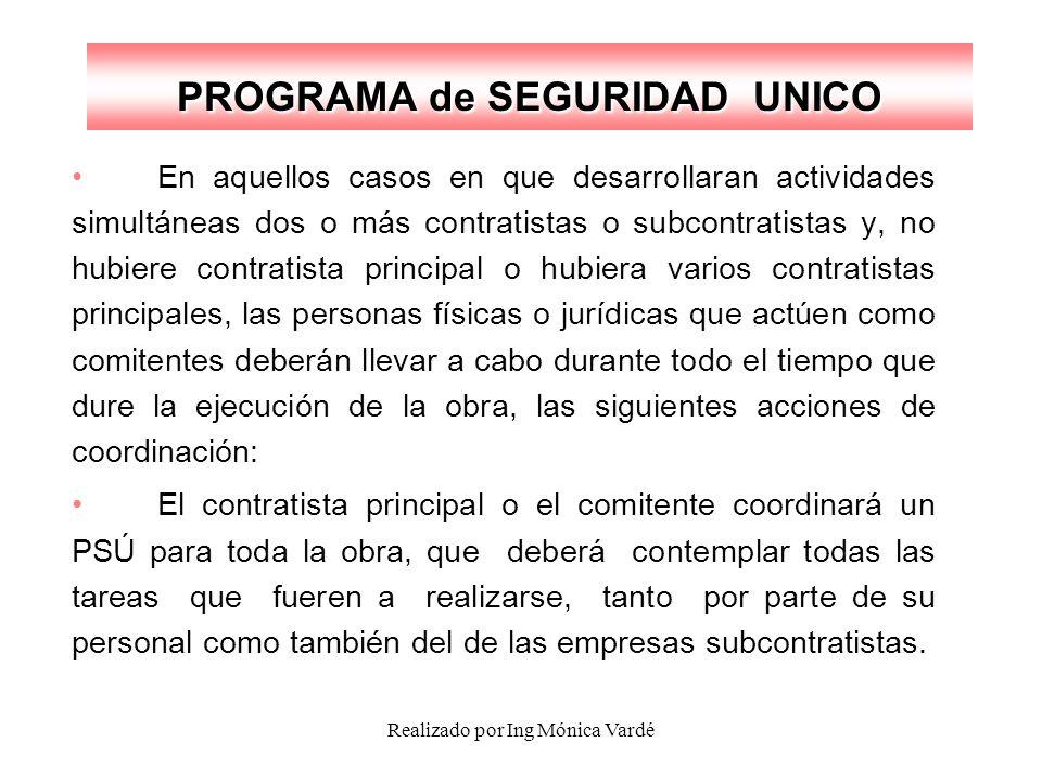 PROGRAMA de SEGURIDAD UNICO