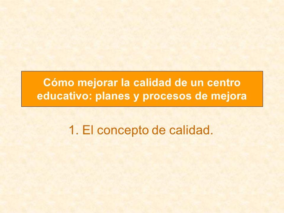 Cómo mejorar la calidad de un centro educativo: planes y procesos de mejora