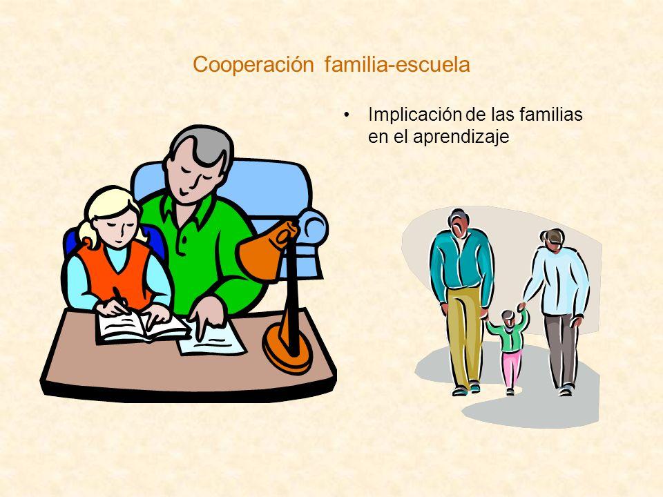 Cooperación familia-escuela