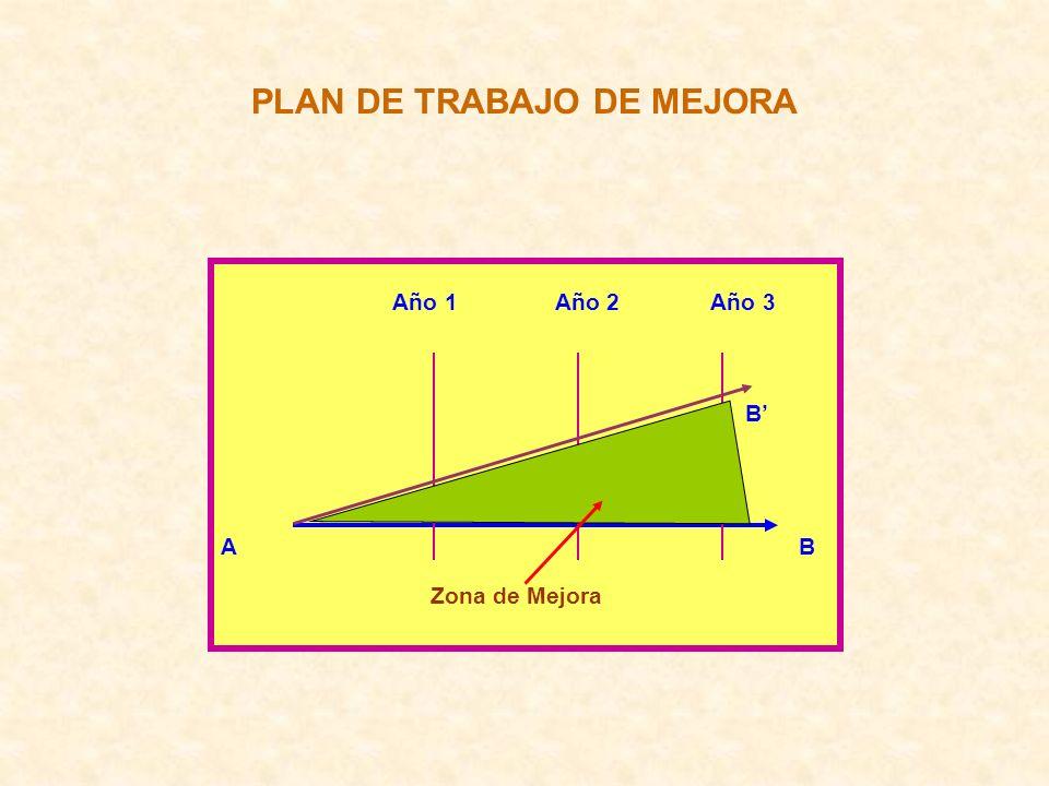 PLAN DE TRABAJO DE MEJORA