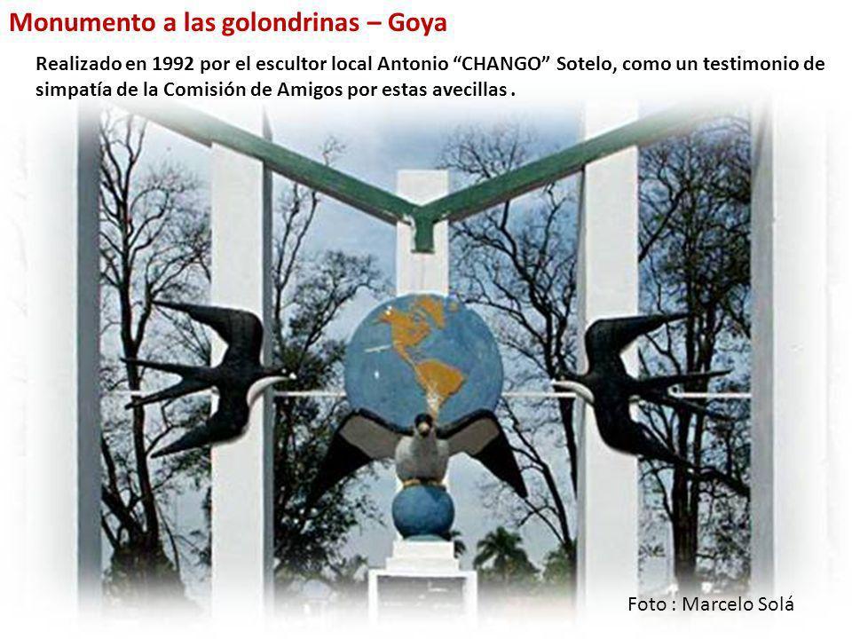 Monumento a las golondrinas – Goya