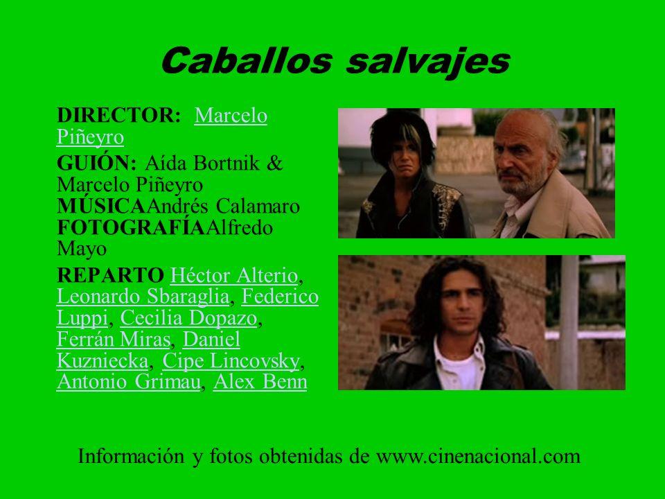 Caballos salvajes DIRECTOR: Marcelo Piñeyro