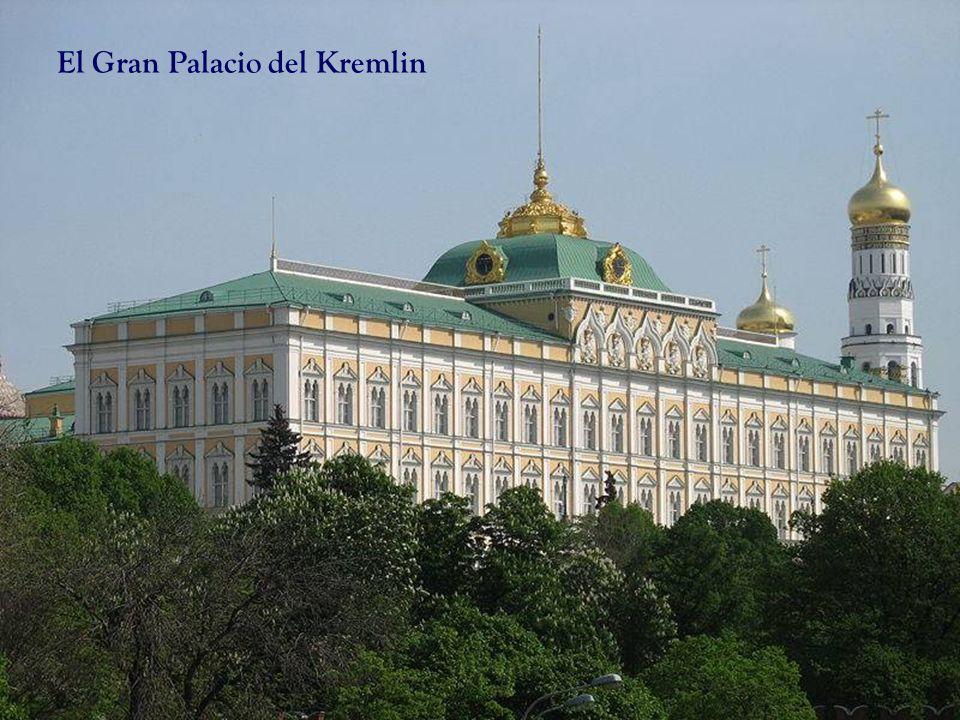El Gran Palacio del Kremlin