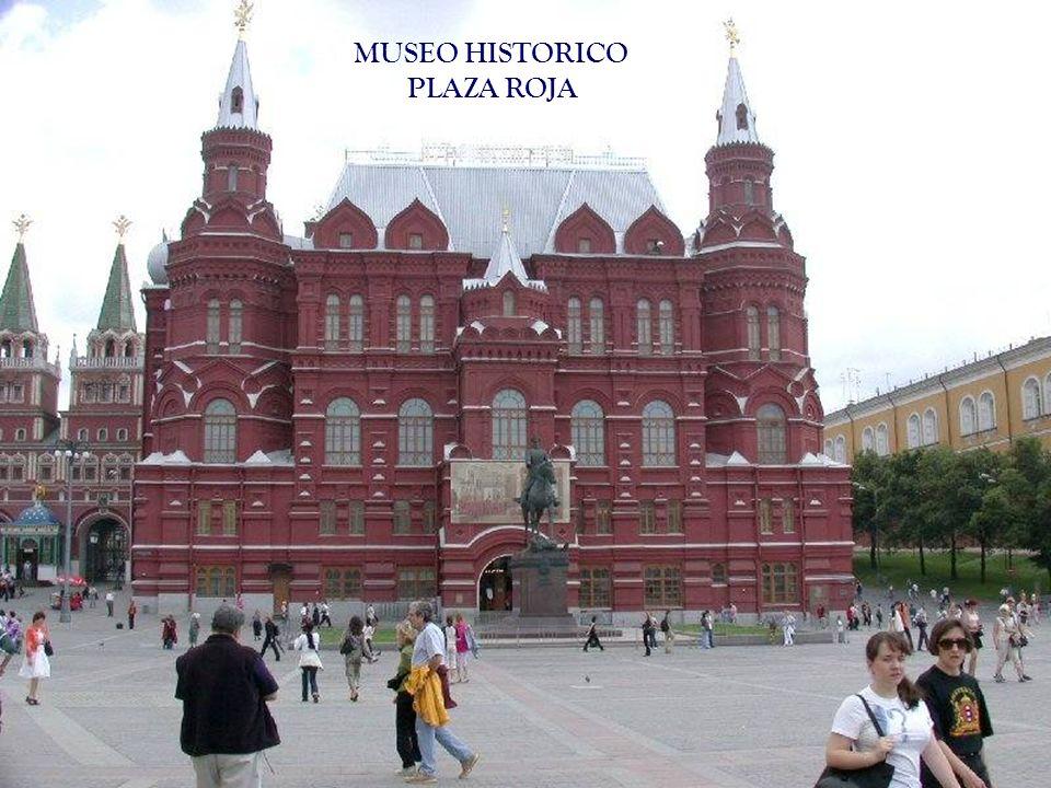 MUSEO HISTORICO PLAZA ROJA
