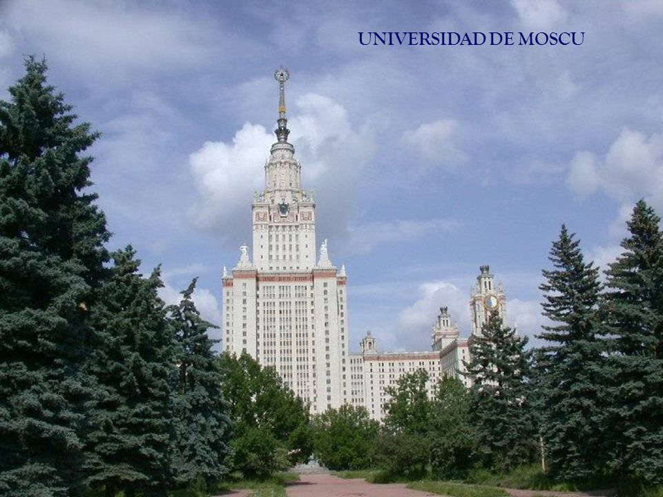 UNIVERSIDAD DE MOSCU
