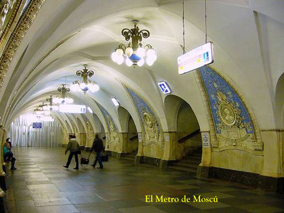 El Metro de Moscú