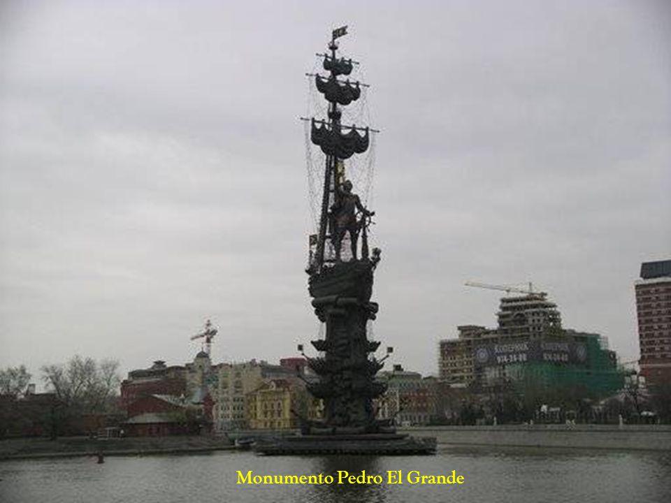 Monumento Pedro El Grande