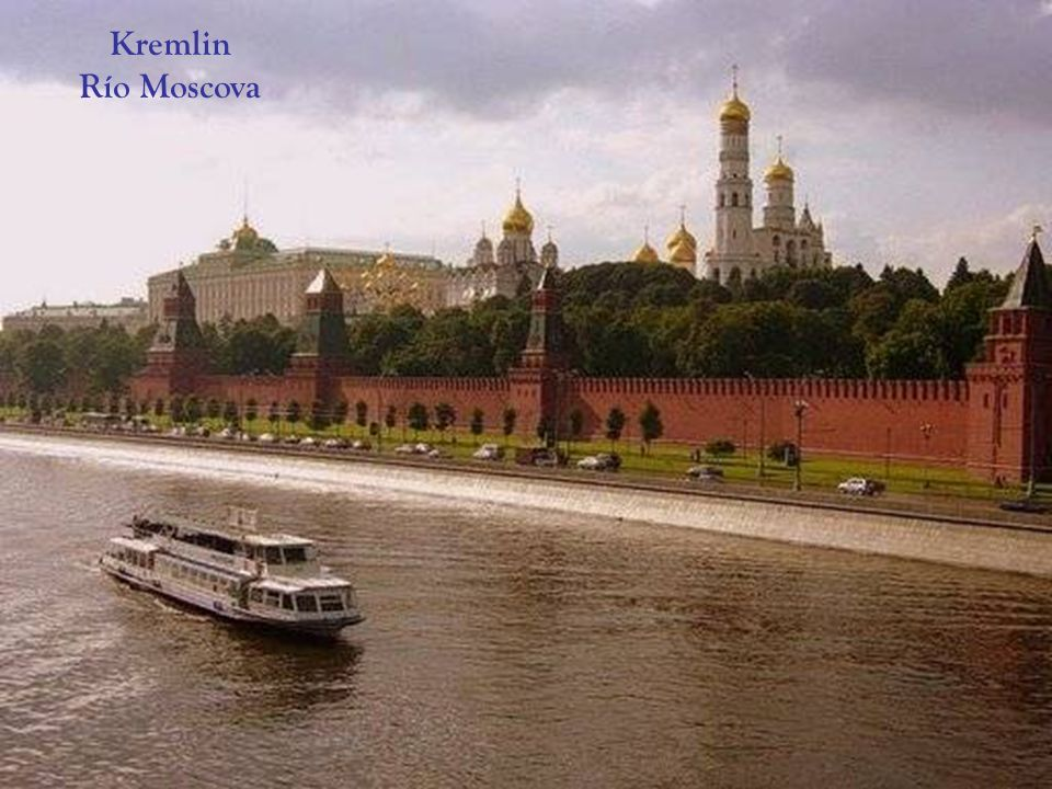 Kremlin Río Moscova