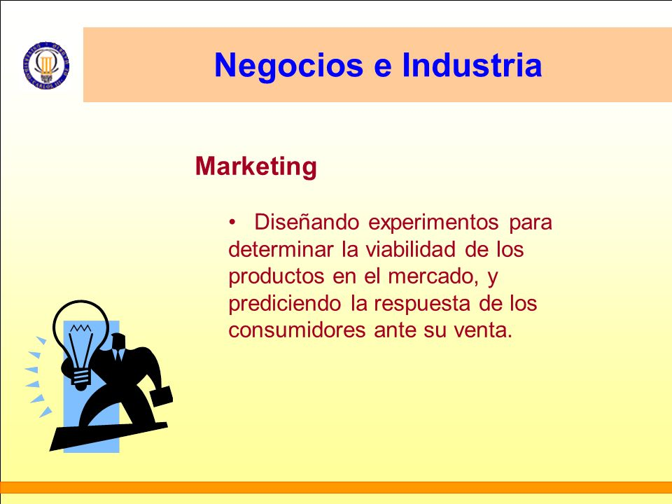 Negocios e Industria Marketing Diseñando experimentos para