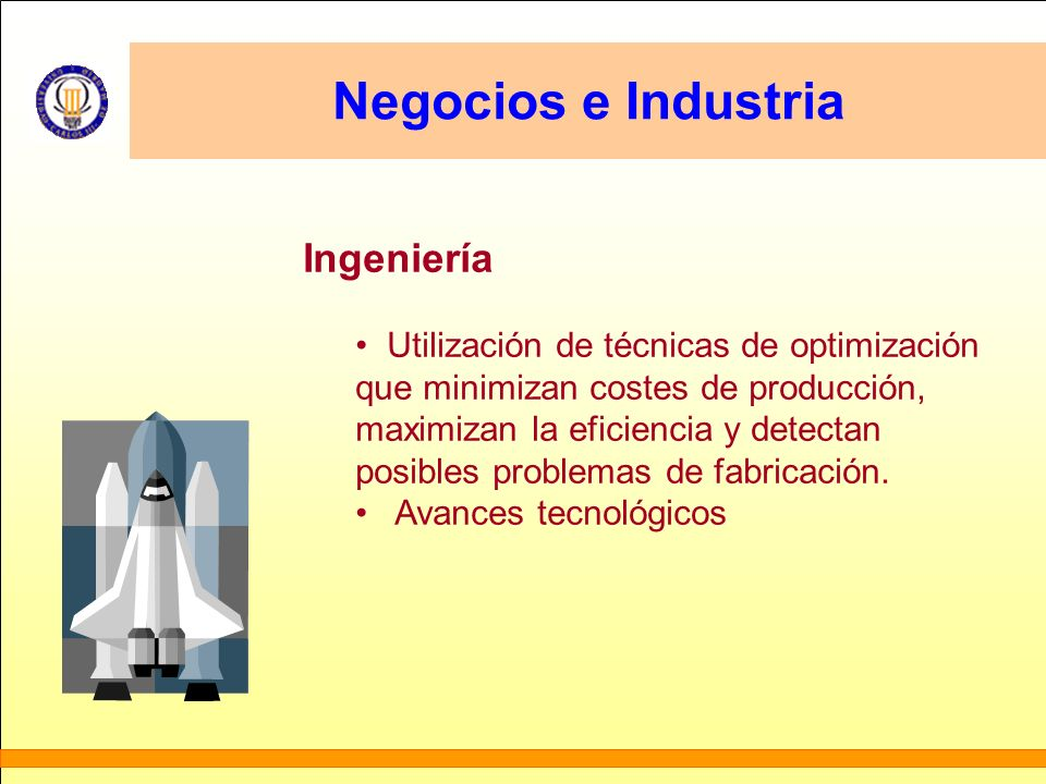 Negocios e Industria Ingeniería