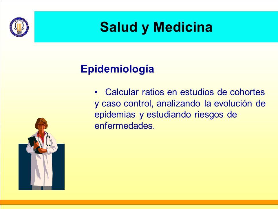 Salud y Medicina Epidemiología