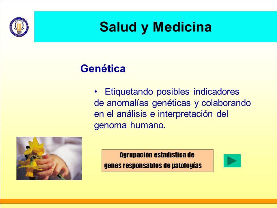 Salud y Medicina Genética Etiquetando posibles indicadores