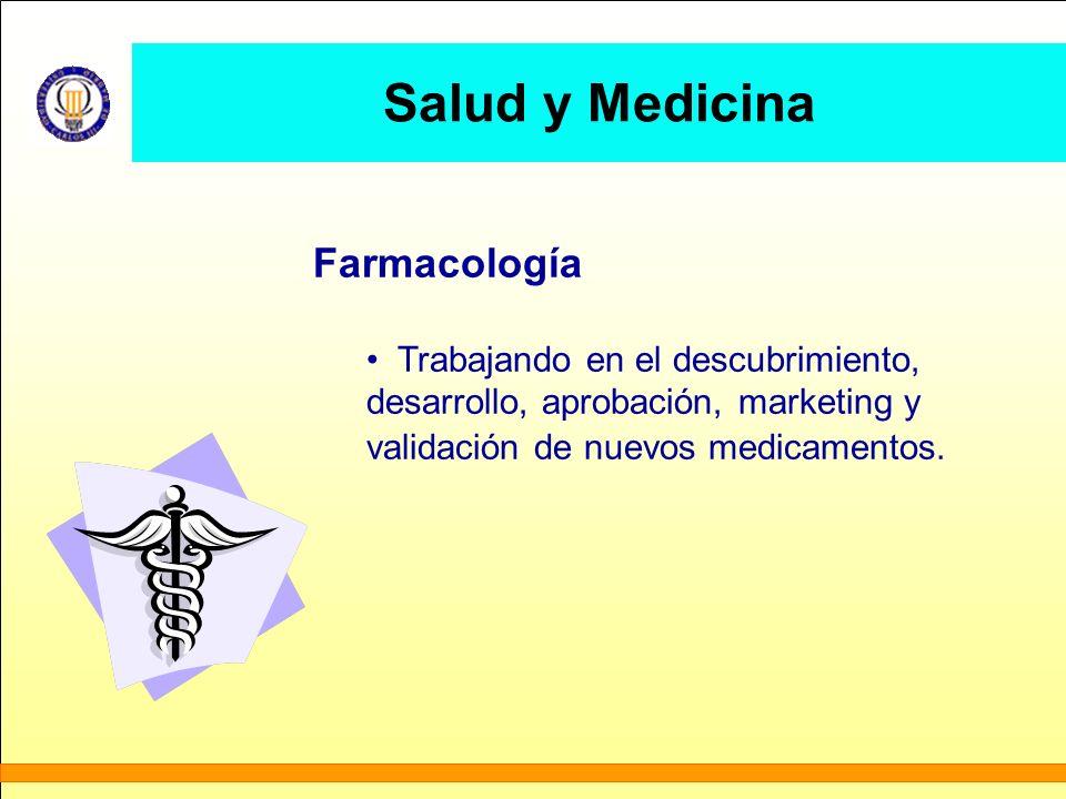 Salud y Medicina Farmacología Trabajando en el descubrimiento,