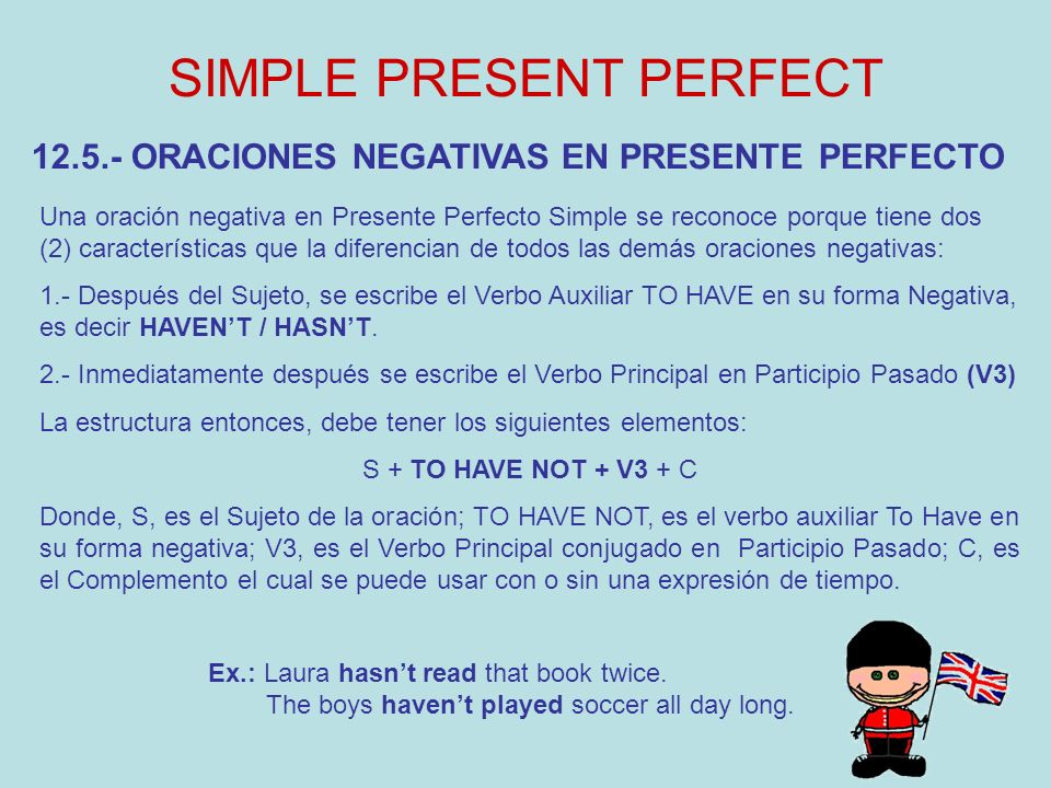 SIMPLE PRESENT PERFECT