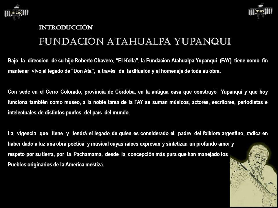 Fundación Atahualpa Yupanqui