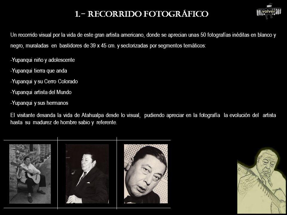 1.- RECORRIDO FOTOGRÁFICO