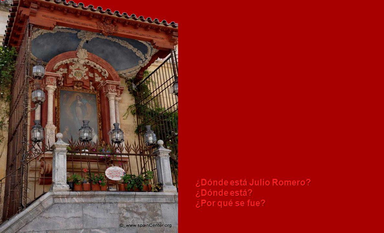 ¿Dónde está Julio Romero
