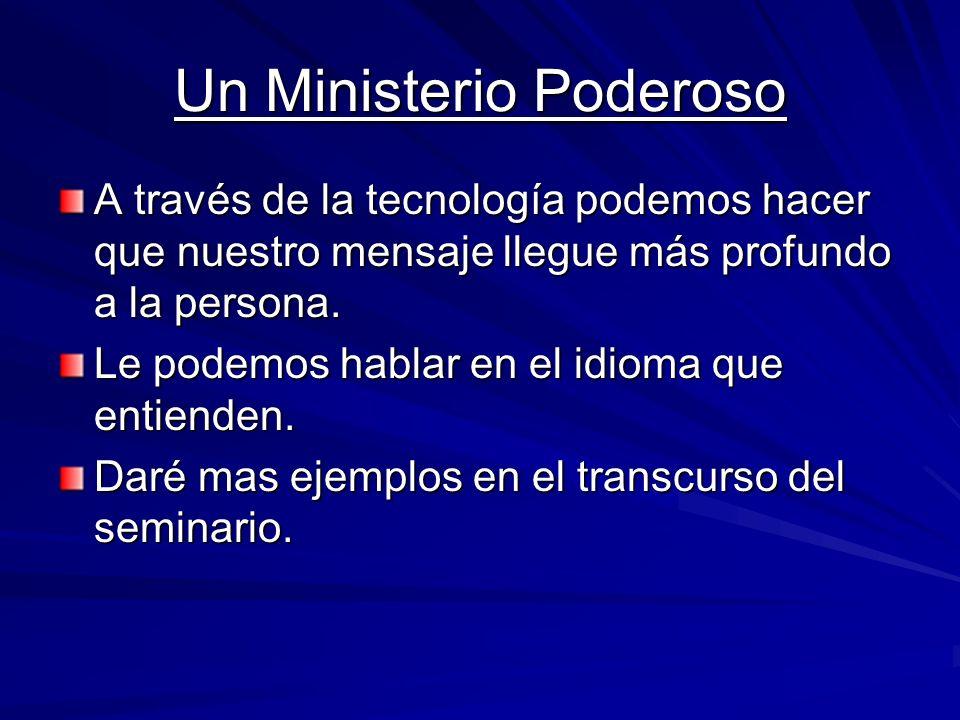 Un Ministerio Poderoso