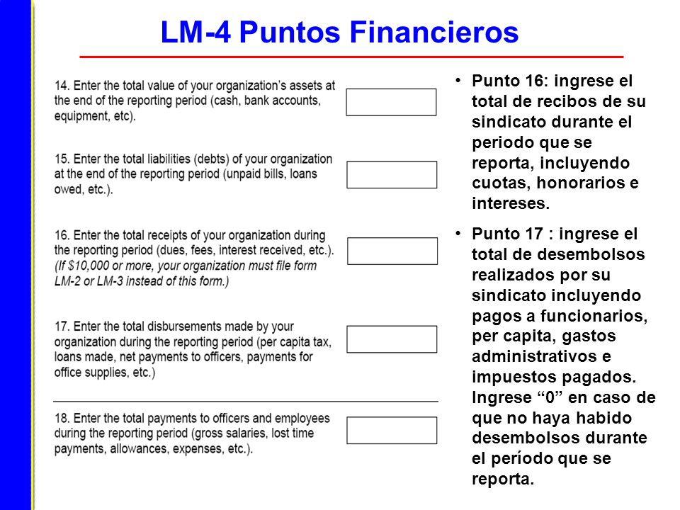 LM-4 Puntos Financieros