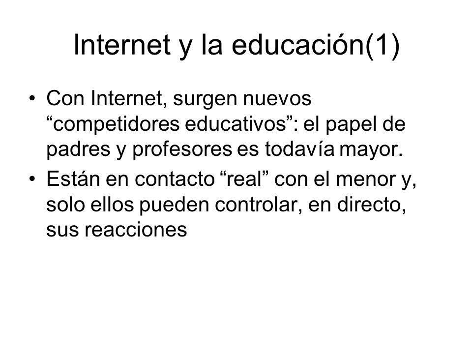 Internet y la educación(1)