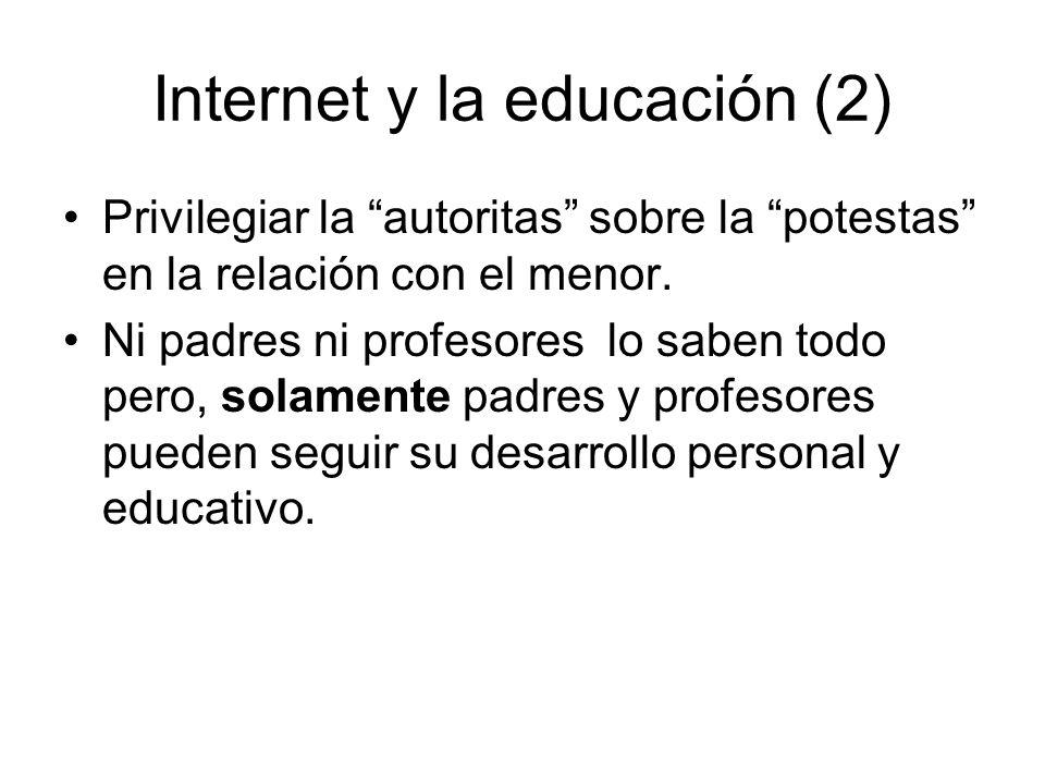 Internet y la educación (2)