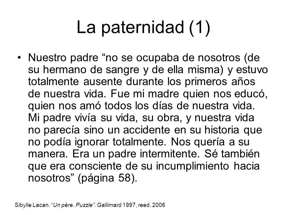 La paternidad (1)