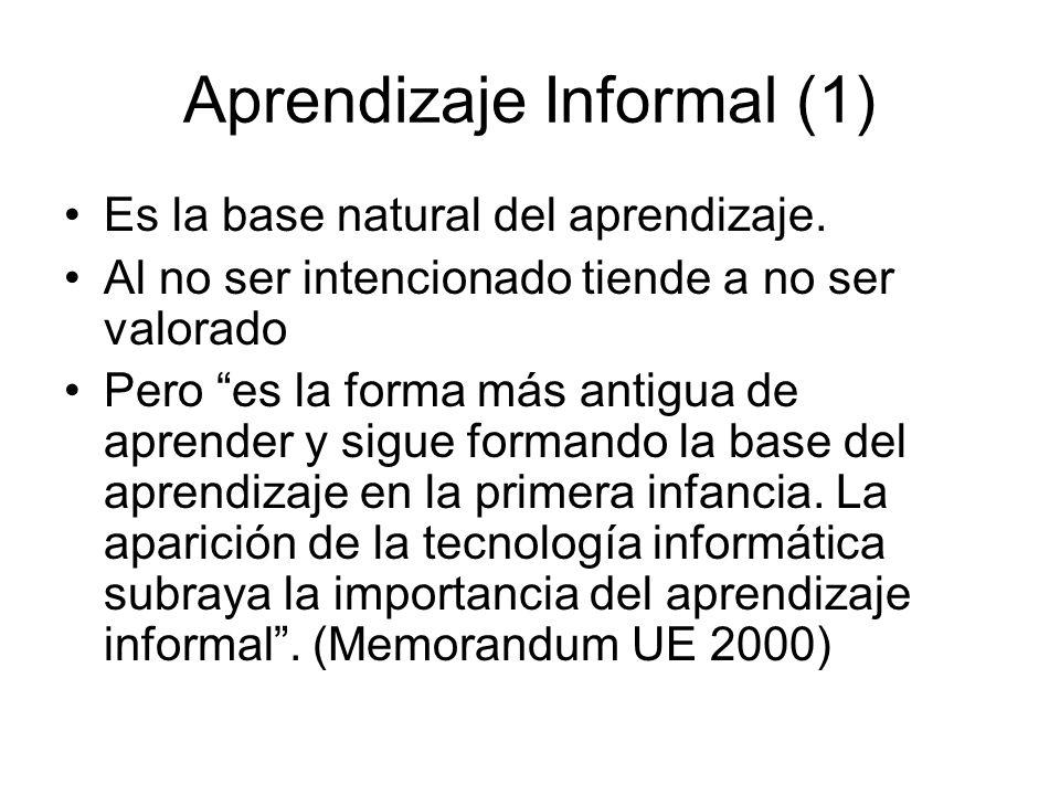 Aprendizaje Informal (1)