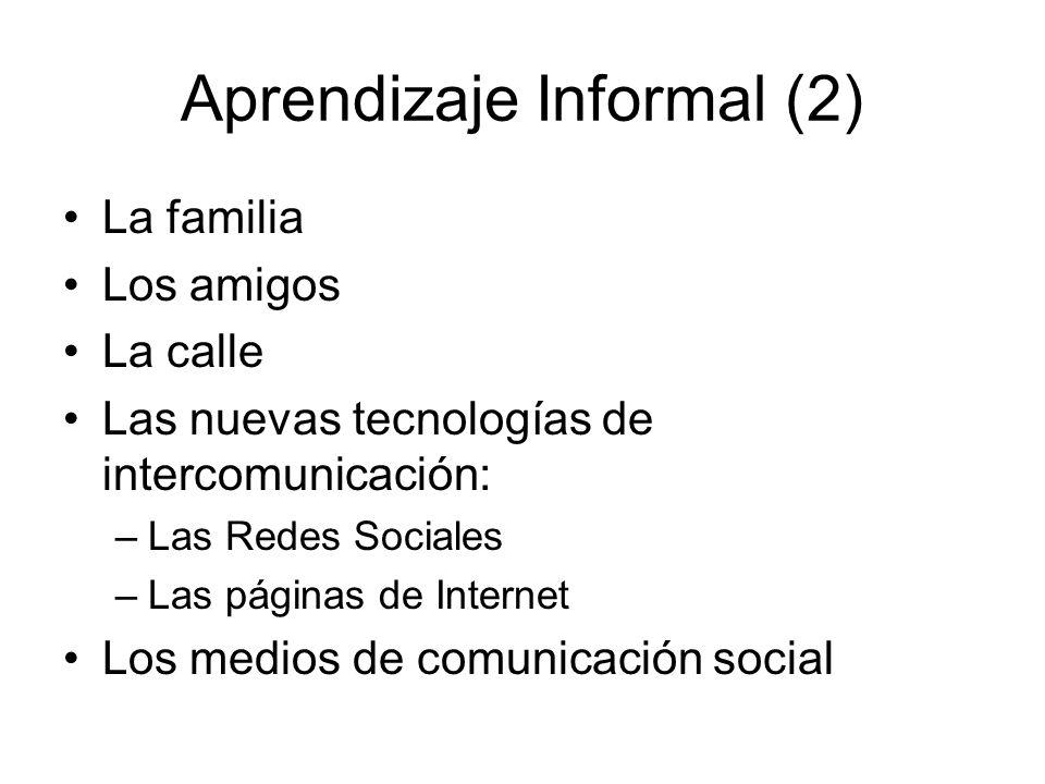 Aprendizaje Informal (2)