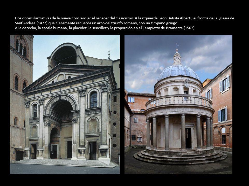 Dos obras ilustrativas de la nueva conciencia: el renacer del clasicismo.