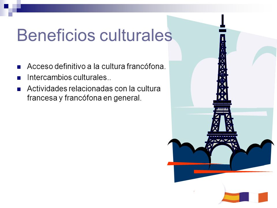 Beneficios culturales