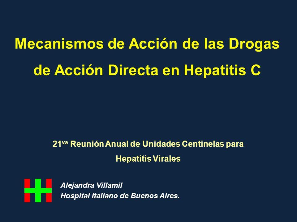 Mecanismos de Acción de las Drogas de Acción Directa en Hepatitis C