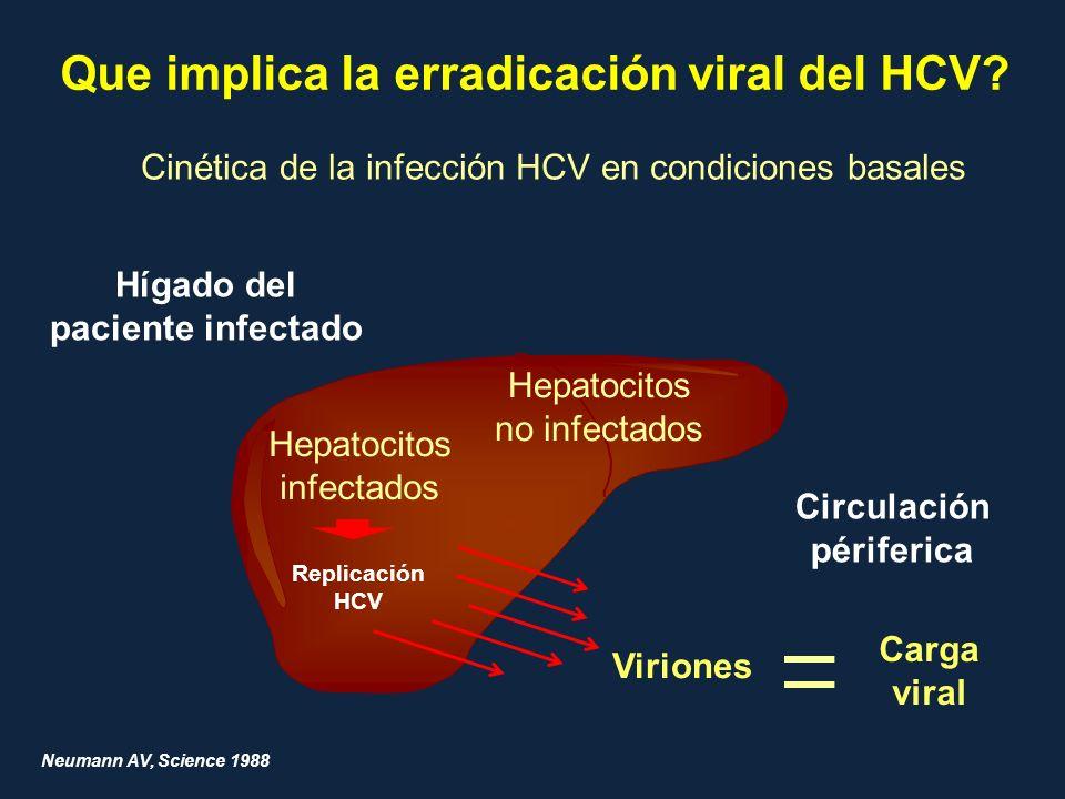 Que implica la erradicación viral del HCV