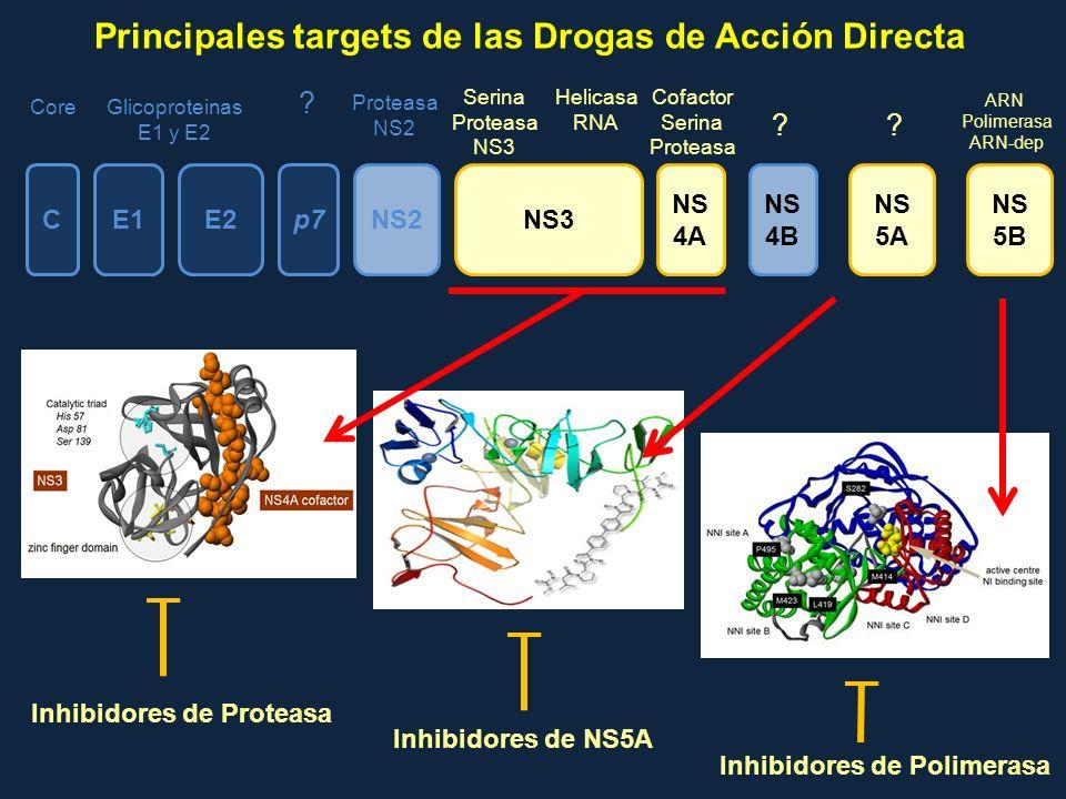 Principales targets de las Drogas de Acción Directa