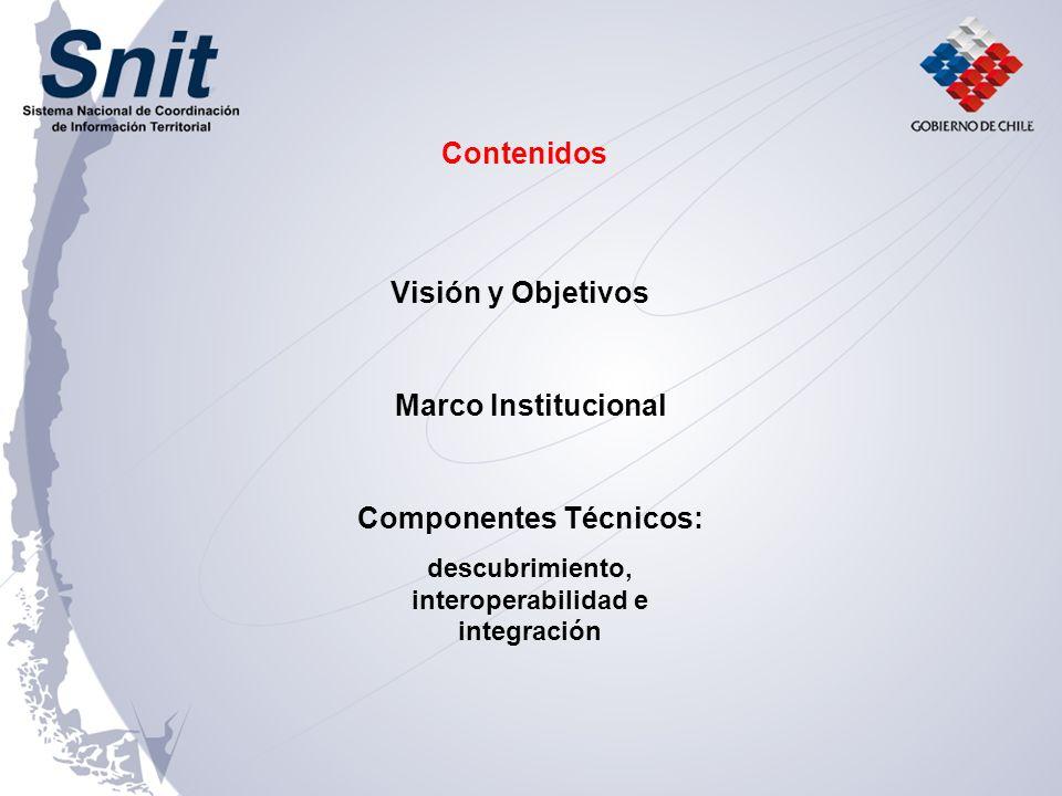 Componentes Técnicos: descubrimiento, interoperabilidad e integración