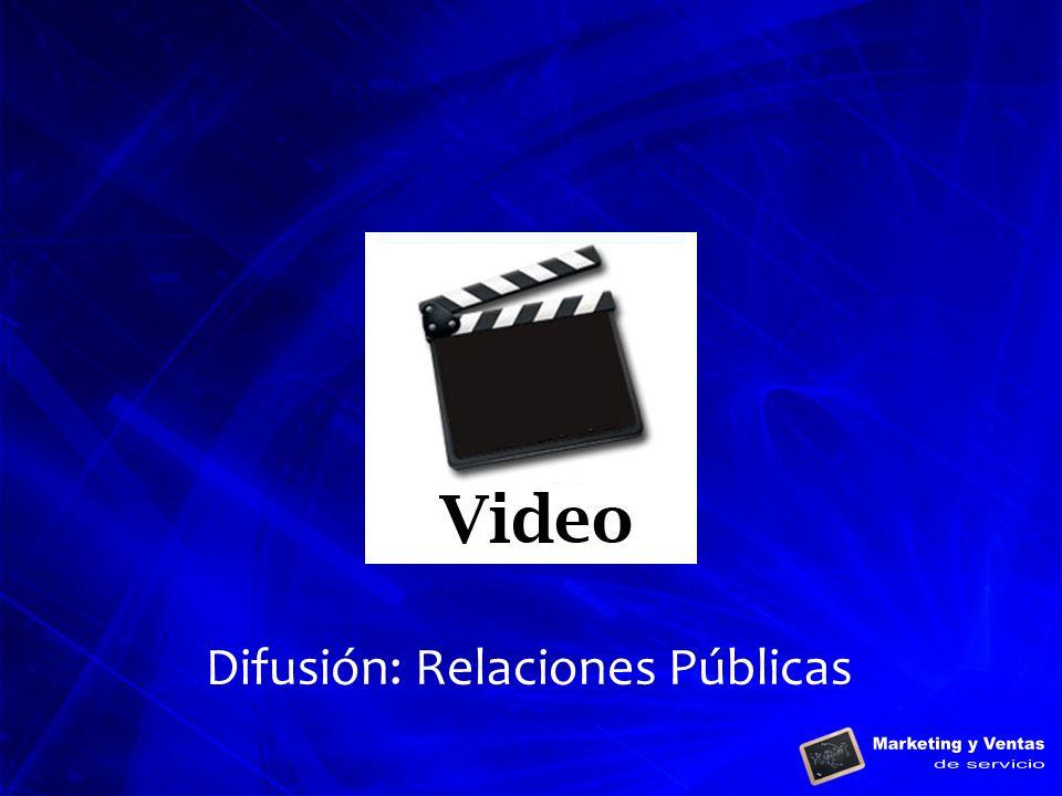 Difusión: Relaciones Públicas