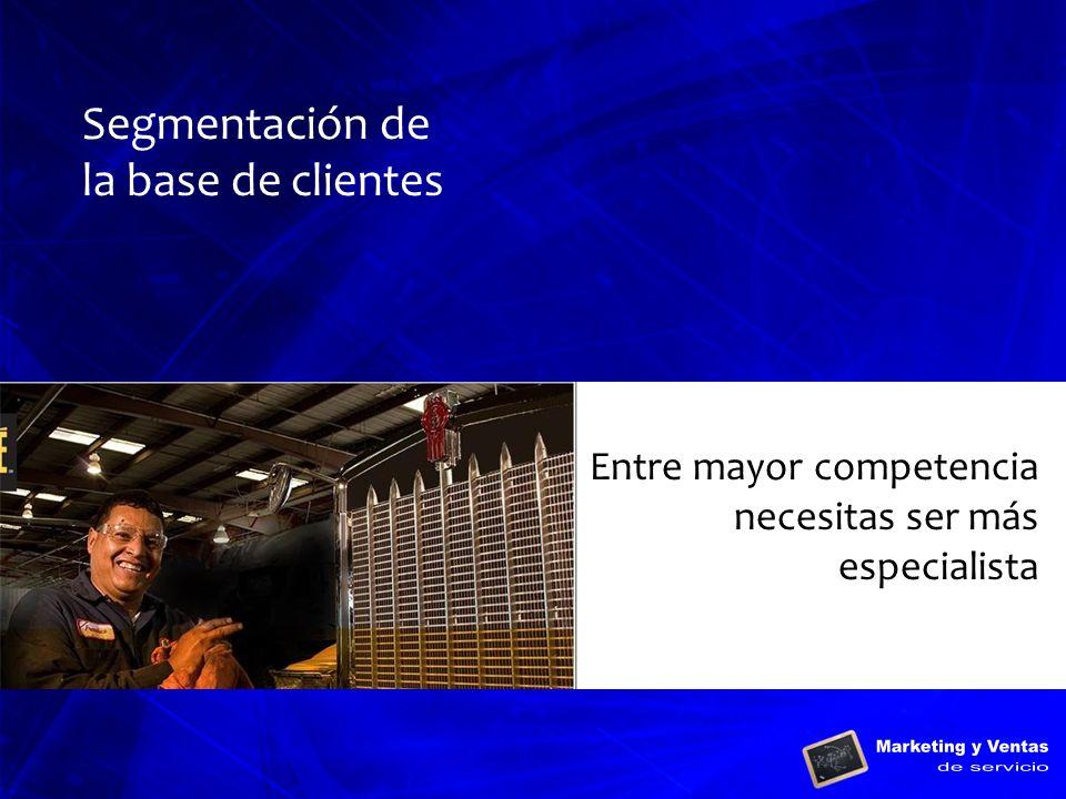 Segmentación de la base de clientes