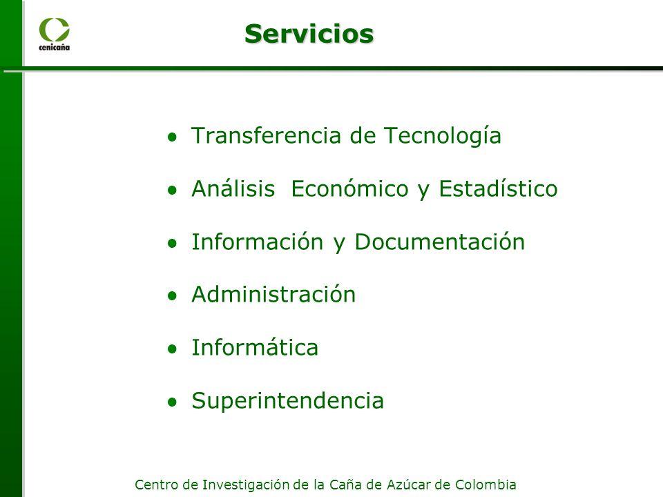 Servicios Transferencia de Tecnología Análisis Económico y Estadístico
