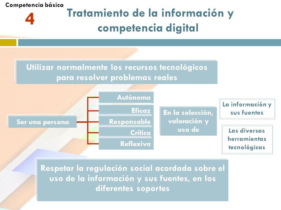 4 Tratamiento de la información y competencia digital