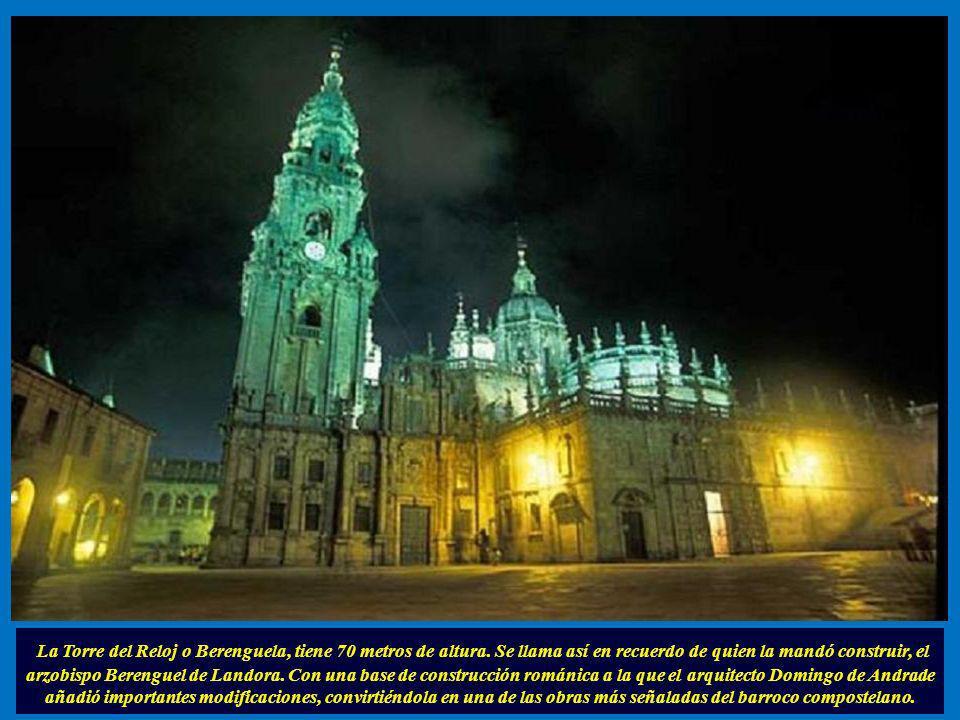 La Torre del Reloj o Berenguela, tiene 70 metros de altura
