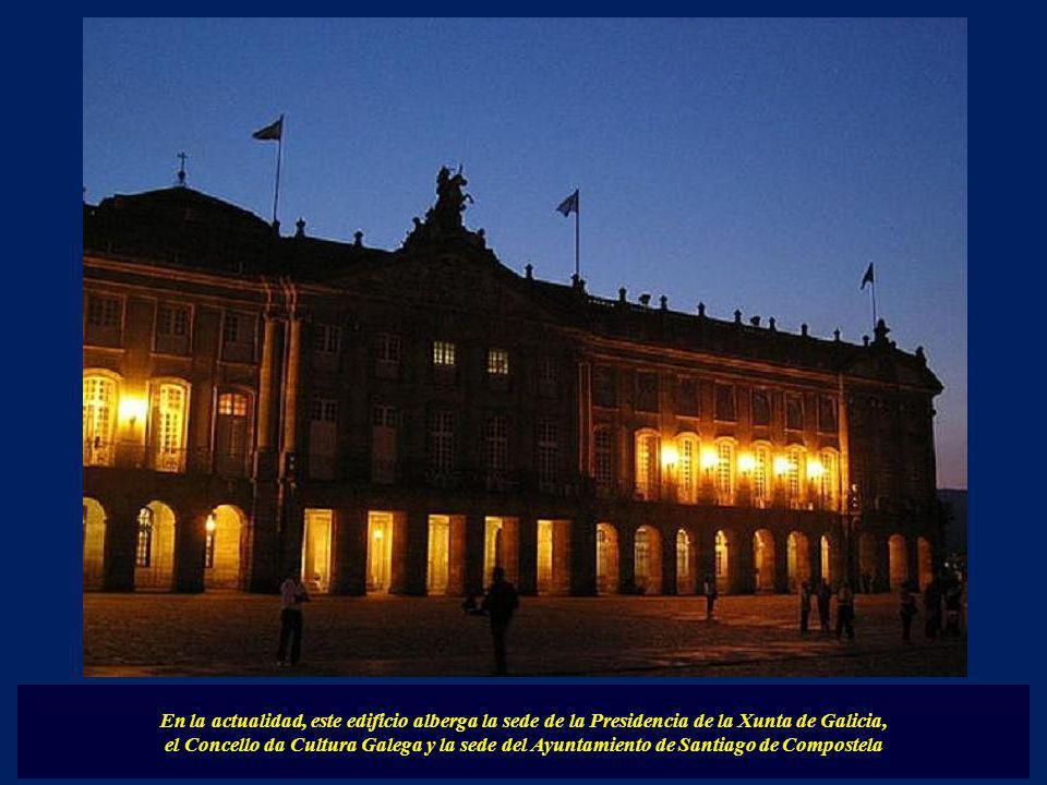 En la actualidad, este edificio alberga la sede de la Presidencia de la Xunta de Galicia,
