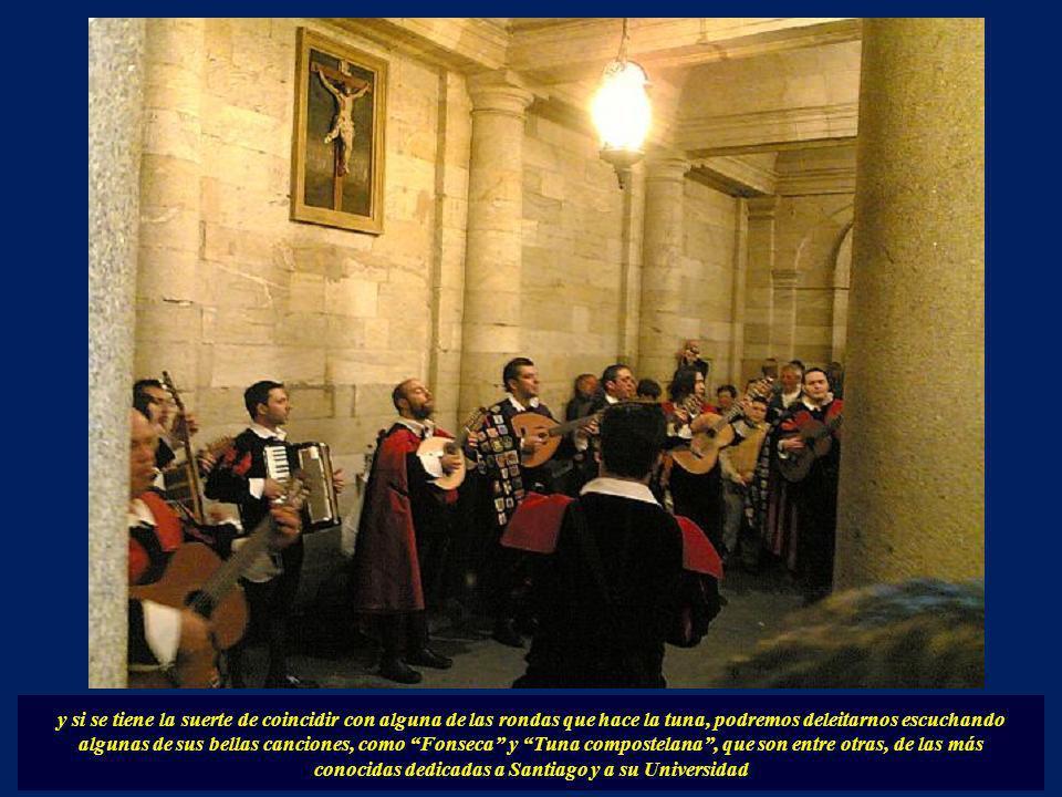 conocidas dedicadas a Santiago y a su Universidad