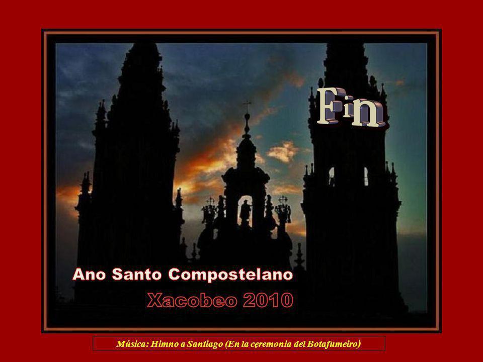 Música: Himno a Santiago (En la ceremonia del Botafumeiro)